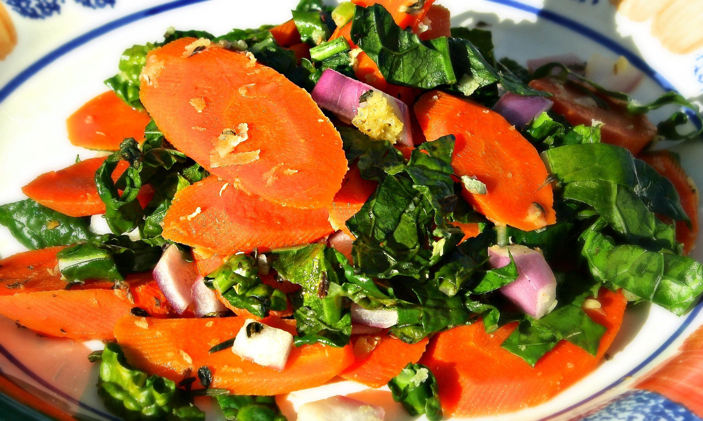 Zanahorias Salteadas Con Kale Ir a la navegación ir a la búsqueda. ama pachana